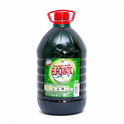 Detergente Liquido EuroMatic, 5 Litros