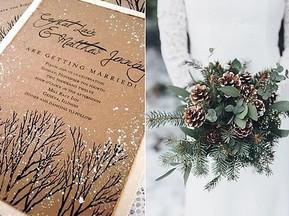 Decoración invernal para boda ¡El frío se avecina!