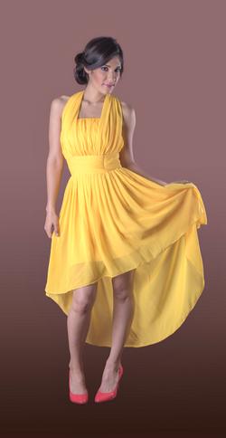Vestido de Dama Afaya