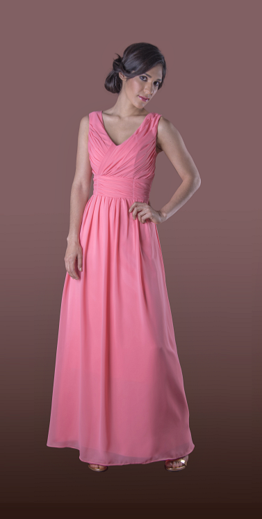 Vestido de Dama Afumina