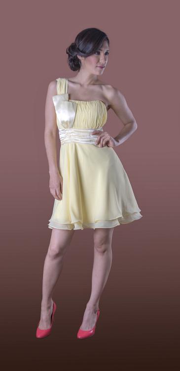 Vestido de Dama Abrea