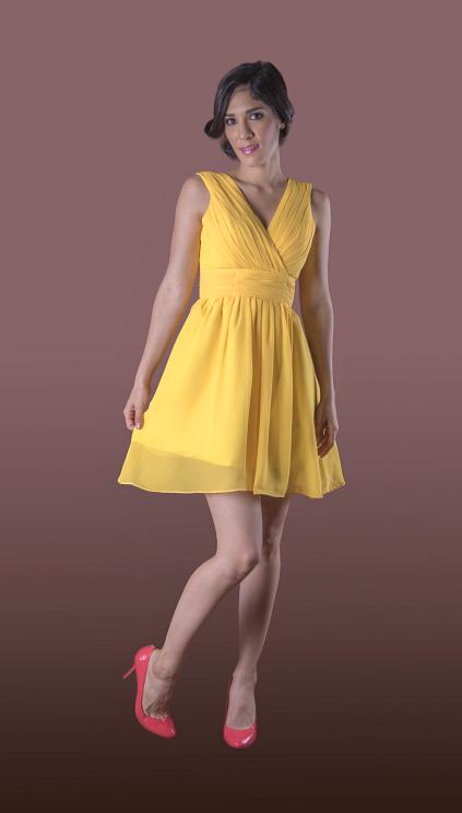 Vestido de Dama Abima