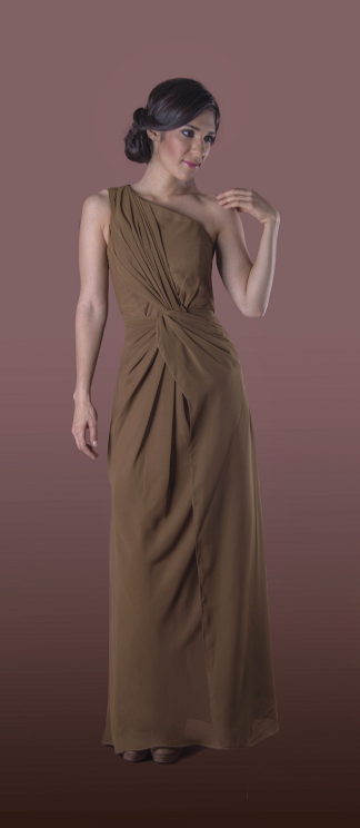 Vestido de Dama Ahumia