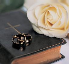 Artículos religiosos, rosario, arras, lazo, cajtas, cojines