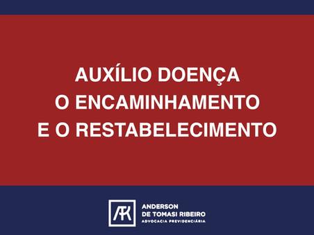 AUXÍLIO DOENÇA O ENCAMINHAMENTO E O RESTABELECIMENTO