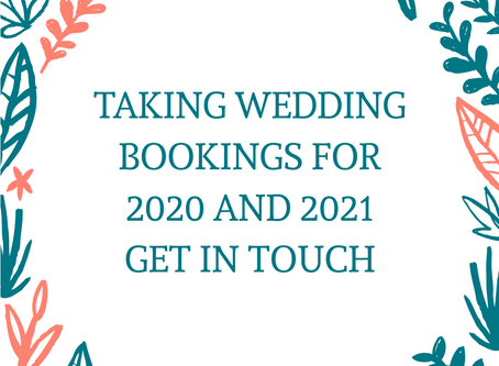 Hello Brides to be, I would like to meet you!