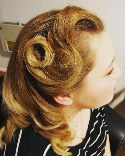 Vinatge hair