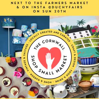 The Cornwall Shop Small Market Portrait