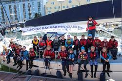 Junior sail to docks 2015
