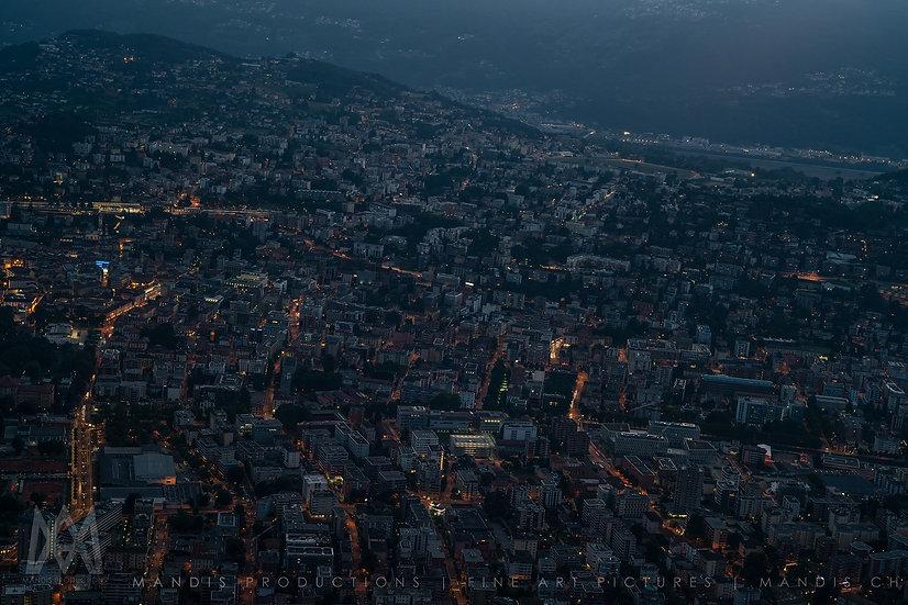 133   Night view    Lugano