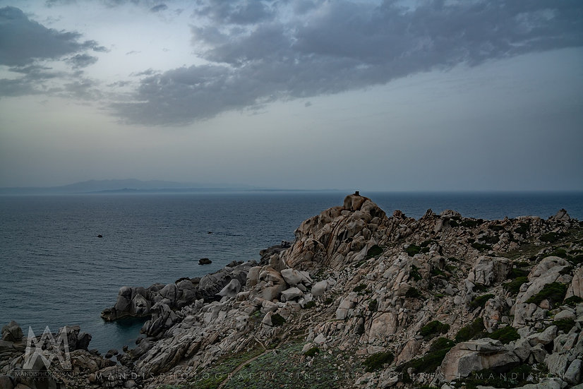 86 | Viewpoint to Corse |  Capo Testa