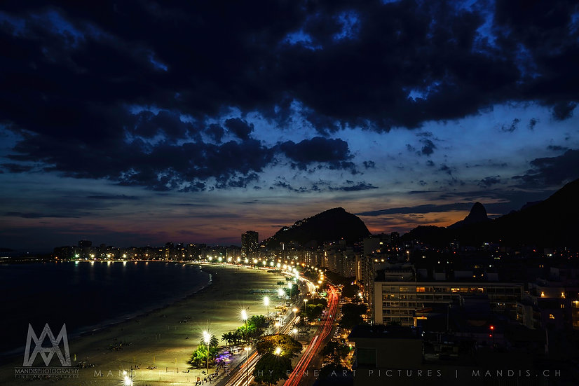 51   Night in Copacabana    Rio de Janeiro