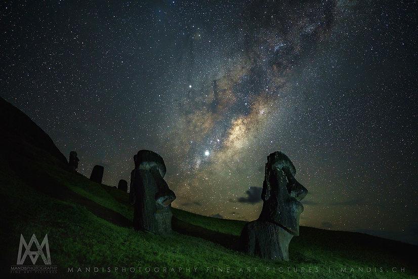 48 | Moai Milkyway  |  Rapa Nui
