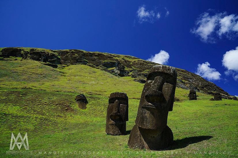 49 | Submerged Moai |  Rapa Nui