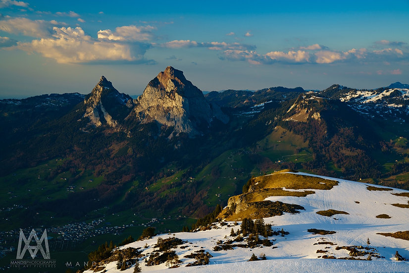 73 | Mountain Skyline |  Fronalpstock