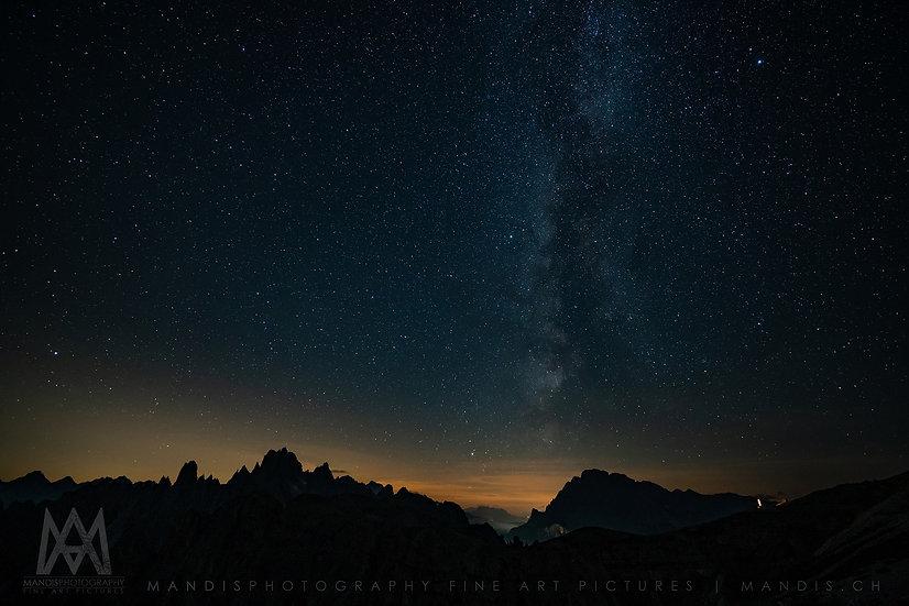 111 | Stars & Mountains |  Tre Cime di Lavaredo