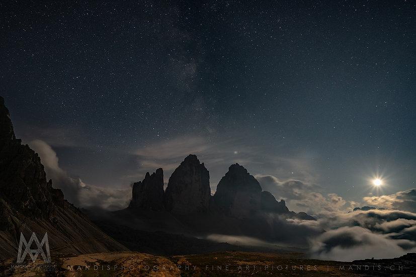 109 | Nightscape on Mars | Tre Cime di Lavaredo