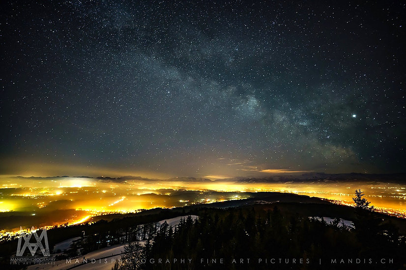 65 | Lightpollution & Milkyway  |  Meilen