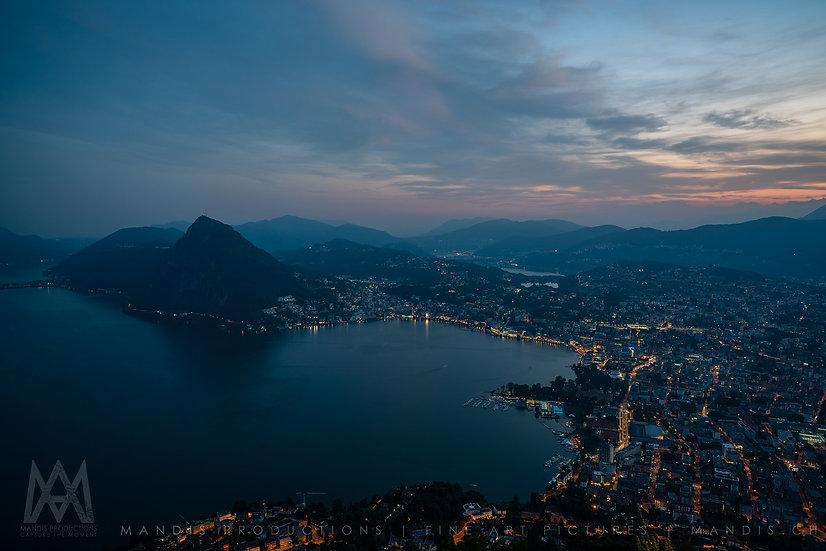 134 | Night Lights |  Lugano