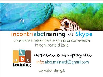 educazione animale skype