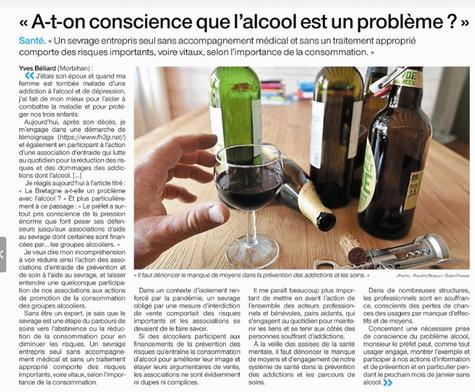 A-t-on conscience que l'alcool est un problème ?