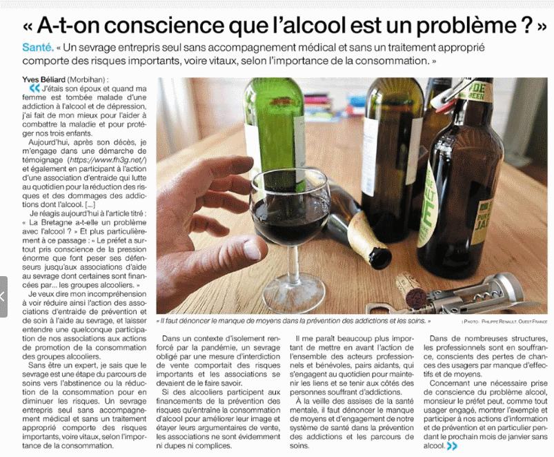 L'Alcool un problème ?