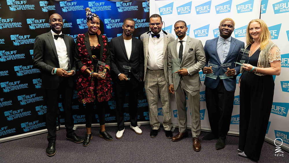 Picture of British Urban Film Festival winners