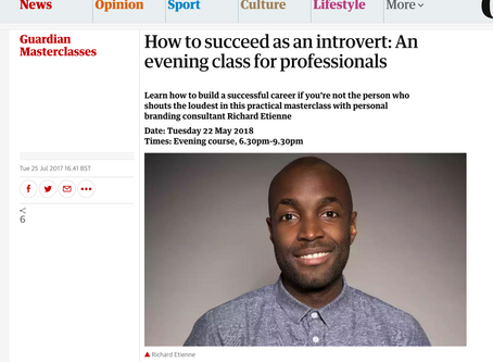 I'm back teaching at The Guardian