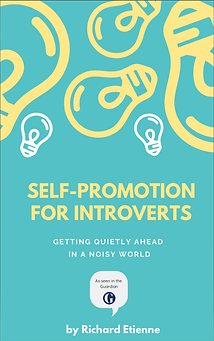 Self promotion for introverts front cove