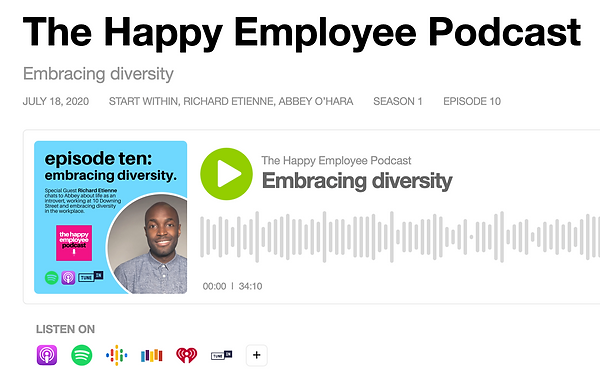 The Happy Employee podcast with Richard
