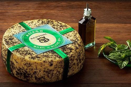 Sartori Asiago with Basil & Olive Oil