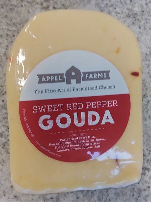 Appel Farms Sweet Pepper Gouda - 7 oz