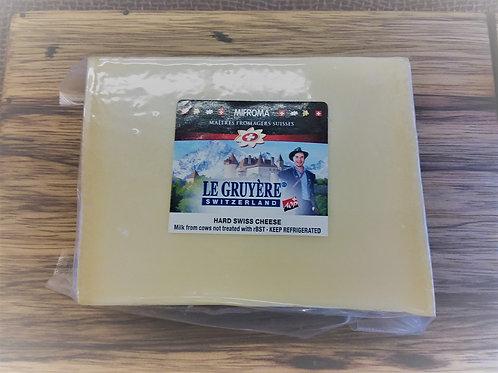 Imported  Swiss Gruyere - AOC