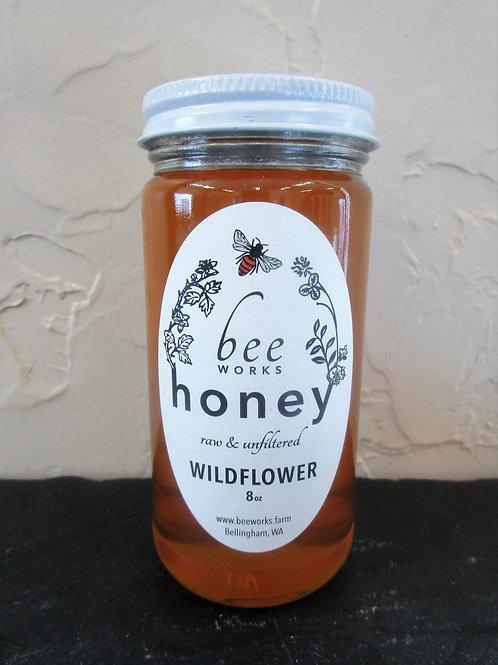 Beeworks Local Raw Honey - 8 oz