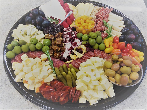 Epic Holiday Cheese Platter