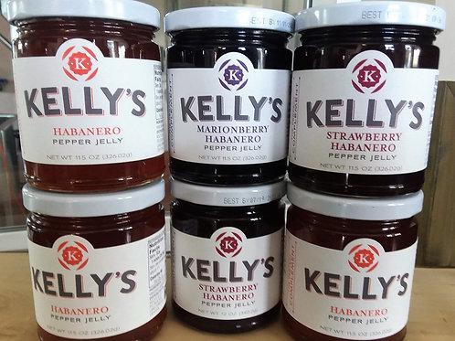 Kelly's Habanero Jelly - 12 oz