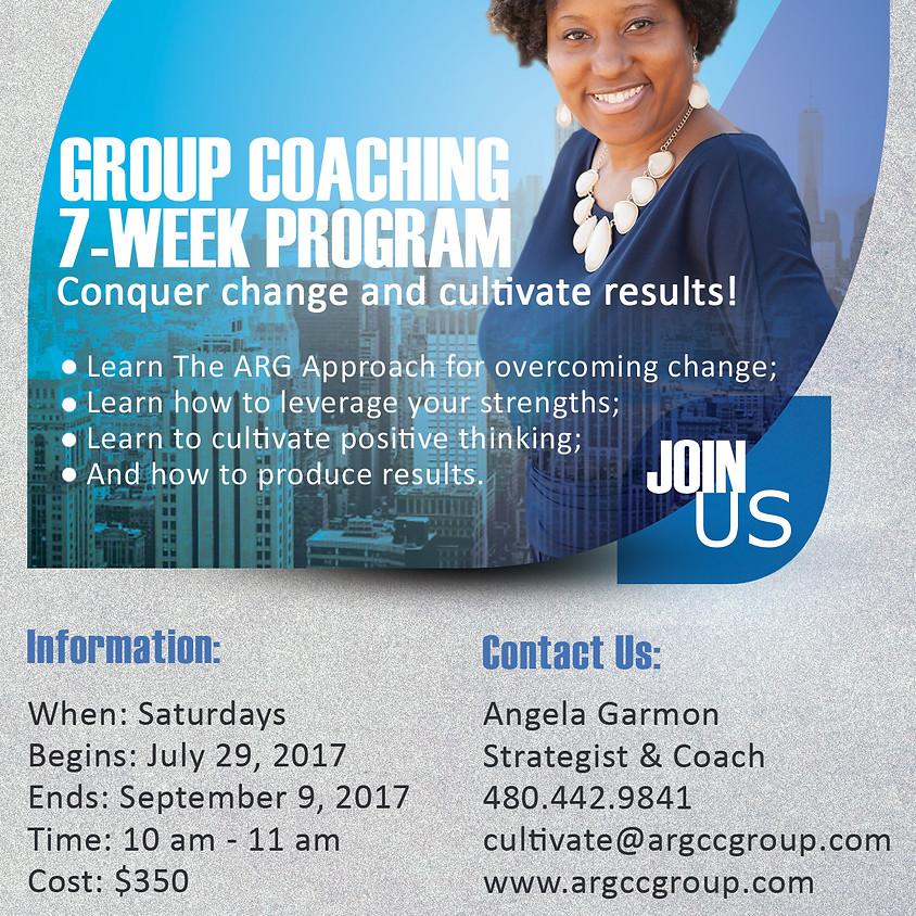 Group Coaching 7-Week Program