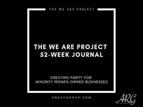 We Are Project Journal