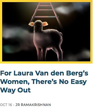 Laura van den Berg I HOLD A WOLF intervi
