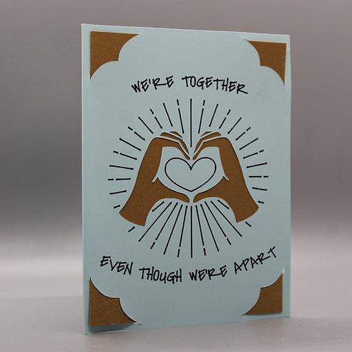 We're Together -Card