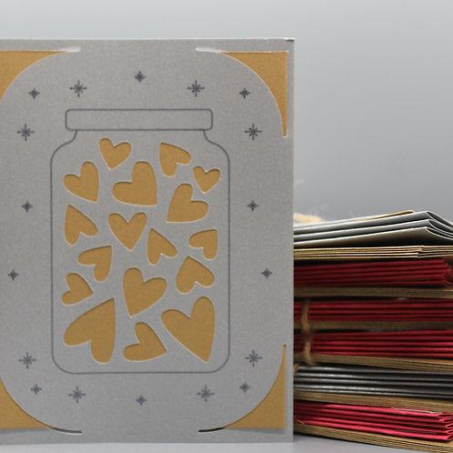 JAR OF HEARTS -CARDS