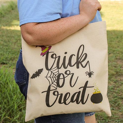Trick Or Treat - Halloween Tote Bag