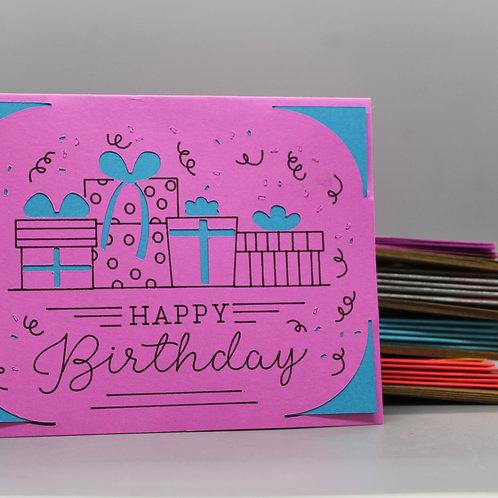 Birthday Present -Card