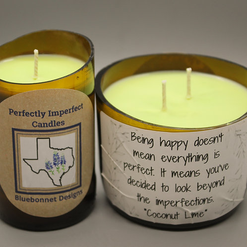 Perfectly Imperfect Candles -Coconut Lime