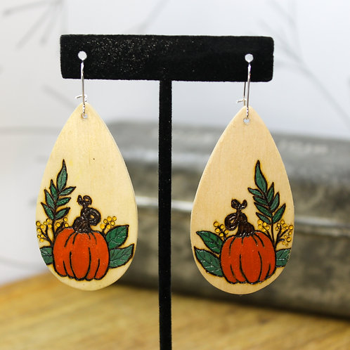 Teardrop Pumpkins