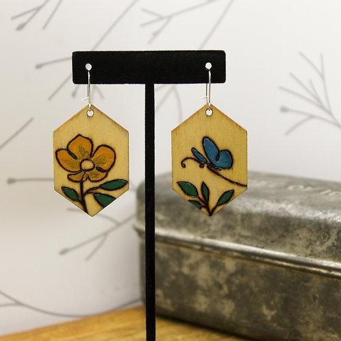 Flower & Butterfly