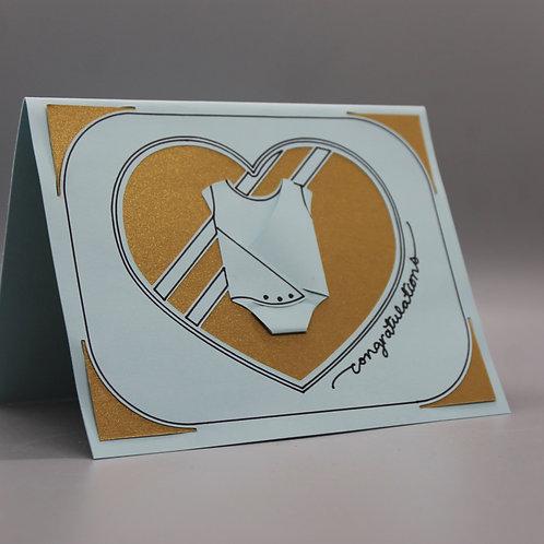 Baby Onesie -Card