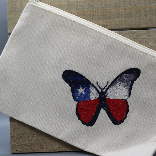 TX FLAG BUTTERFLY