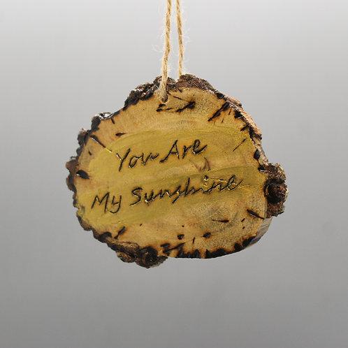 You Are My Sunshine -Car Charm