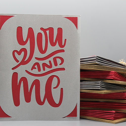 YOU & ME -CARDS